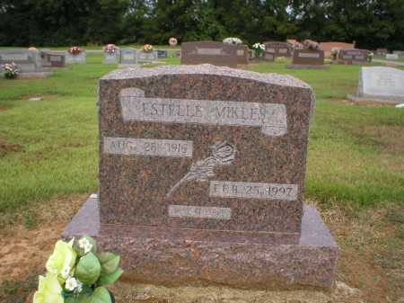 MIKLES, ESTELLE - Logan County, Arkansas | ESTELLE MIKLES - Arkansas Gravestone Photos
