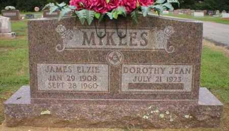 MIKLES, JAMES ELZIE - Logan County, Arkansas | JAMES ELZIE MIKLES - Arkansas Gravestone Photos