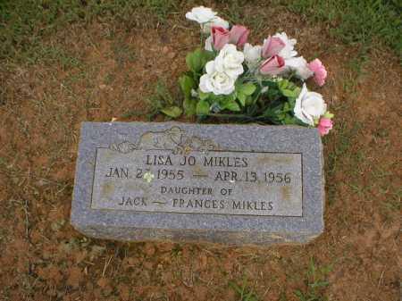MIKLES, LISA JO - Logan County, Arkansas | LISA JO MIKLES - Arkansas Gravestone Photos