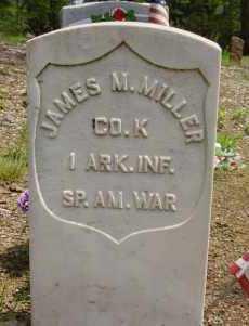 MILLER ((VETERAN SAW), JAMES M - Logan County, Arkansas | JAMES M MILLER ((VETERAN SAW) - Arkansas Gravestone Photos