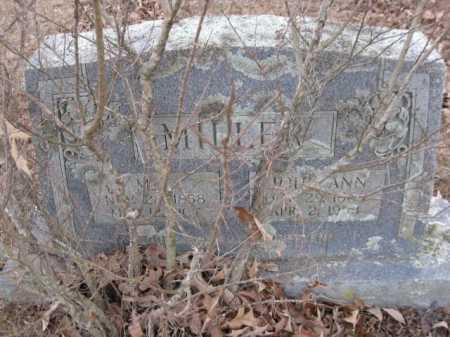 MILLER, M L - Logan County, Arkansas | M L MILLER - Arkansas Gravestone Photos