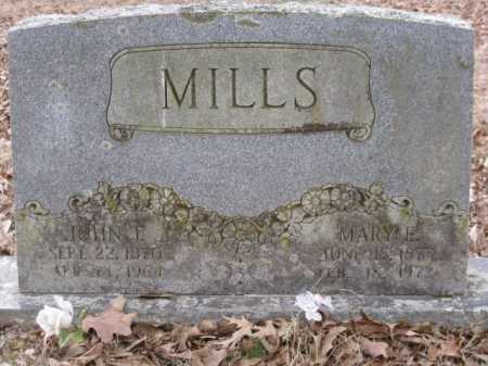 MILLS, MARY E - Logan County, Arkansas | MARY E MILLS - Arkansas Gravestone Photos