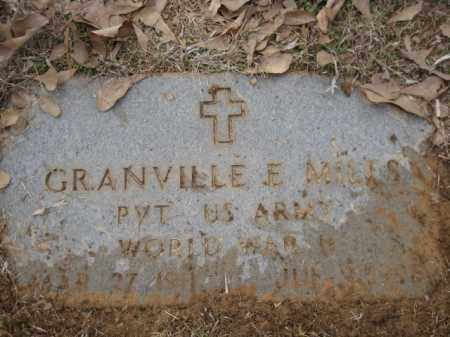 MILLS (VETERAN WWII), GRANVILLE E - Logan County, Arkansas | GRANVILLE E MILLS (VETERAN WWII) - Arkansas Gravestone Photos