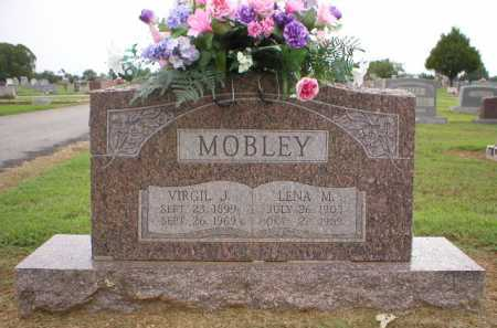 MOBLEY, VIRGIL J. - Logan County, Arkansas | VIRGIL J. MOBLEY - Arkansas Gravestone Photos