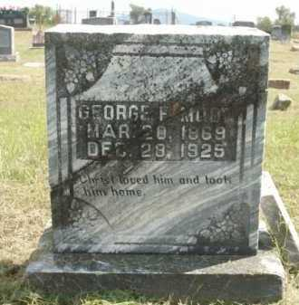 MOON, GEORGE F - Logan County, Arkansas | GEORGE F MOON - Arkansas Gravestone Photos