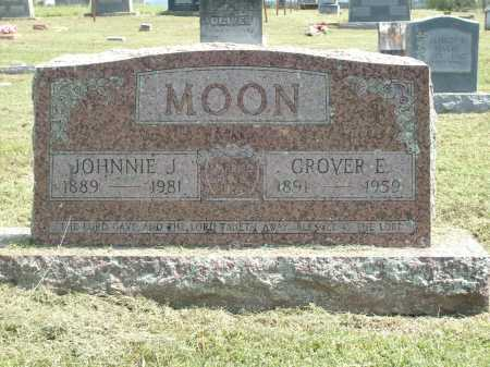 MOON, JOHNNIE J - Logan County, Arkansas | JOHNNIE J MOON - Arkansas Gravestone Photos