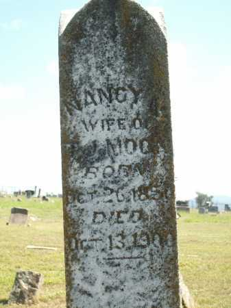 MOON, NANCY - Logan County, Arkansas | NANCY MOON - Arkansas Gravestone Photos
