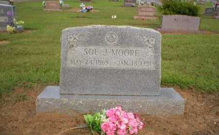MOORE, SOL J. - Logan County, Arkansas | SOL J. MOORE - Arkansas Gravestone Photos