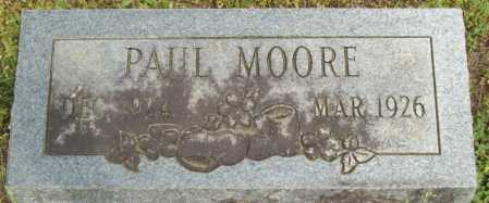 MOORE, PAUL - Logan County, Arkansas | PAUL MOORE - Arkansas Gravestone Photos