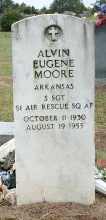 MOORE (VETERAN), ALVIN EUGENE - Logan County, Arkansas | ALVIN EUGENE MOORE (VETERAN) - Arkansas Gravestone Photos