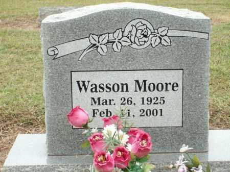 MOORE, WASSON - Logan County, Arkansas | WASSON MOORE - Arkansas Gravestone Photos