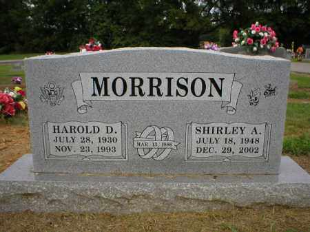 MORRISON, SHIRLEY - Logan County, Arkansas | SHIRLEY MORRISON - Arkansas Gravestone Photos
