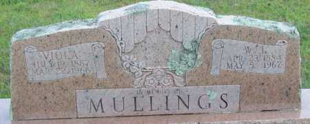 MULLINGS, W.I. - Logan County, Arkansas | W.I. MULLINGS - Arkansas Gravestone Photos