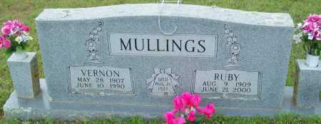 MULLINGS, RUBY - Logan County, Arkansas | RUBY MULLINGS - Arkansas Gravestone Photos