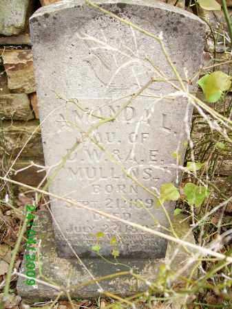 MULLINS, AMANDA L. - Logan County, Arkansas | AMANDA L. MULLINS - Arkansas Gravestone Photos