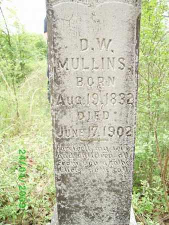 MULLINS, D W - Logan County, Arkansas | D W MULLINS - Arkansas Gravestone Photos
