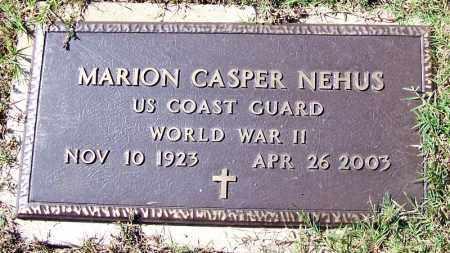 NEHUS (VETERAN WWII), MARION CASPER - Logan County, Arkansas | MARION CASPER NEHUS (VETERAN WWII) - Arkansas Gravestone Photos