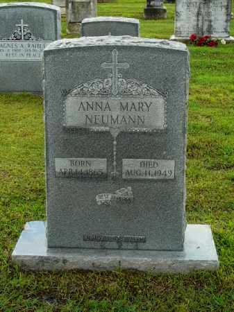 NEUMANN, ANNA - Logan County, Arkansas | ANNA NEUMANN - Arkansas Gravestone Photos