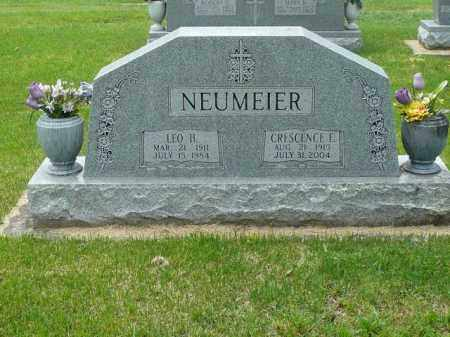 NEUMEIER, CRESCENCE - Logan County, Arkansas | CRESCENCE NEUMEIER - Arkansas Gravestone Photos
