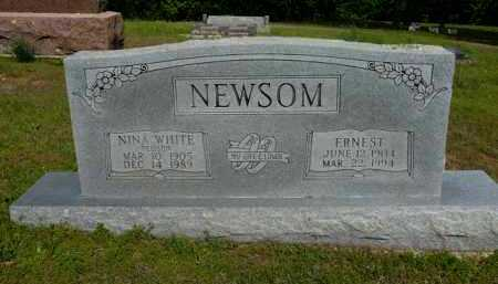 NEWSOM, NINA - Logan County, Arkansas | NINA NEWSOM - Arkansas Gravestone Photos
