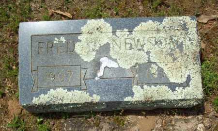 NEWSON, FRED J. - Logan County, Arkansas | FRED J. NEWSON - Arkansas Gravestone Photos