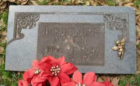 NIXON, DORTHY JUNE - Logan County, Arkansas | DORTHY JUNE NIXON - Arkansas Gravestone Photos