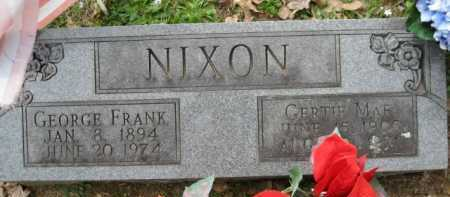 NIXON, GEORGE FRANK - Logan County, Arkansas | GEORGE FRANK NIXON - Arkansas Gravestone Photos