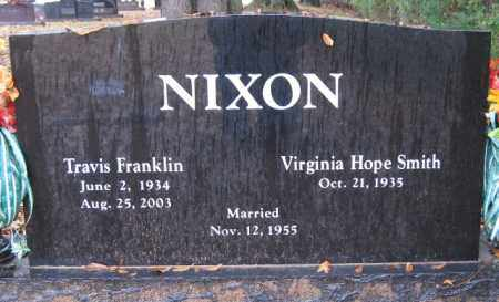 NIXON, TRAVIS FRANKLIN - Logan County, Arkansas | TRAVIS FRANKLIN NIXON - Arkansas Gravestone Photos