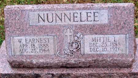 NUNNELEE, MITTIE L. - Logan County, Arkansas | MITTIE L. NUNNELEE - Arkansas Gravestone Photos