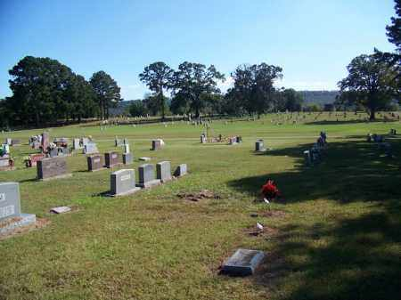 *OAKWOOD CEMETERY OVERVIEW,  - Logan County, Arkansas |  *OAKWOOD CEMETERY OVERVIEW - Arkansas Gravestone Photos