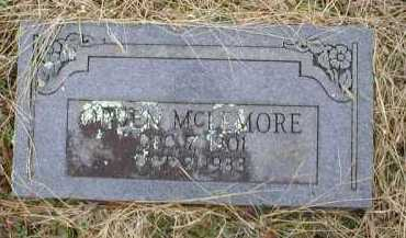 MCLEMORE, ORBEN - Logan County, Arkansas | ORBEN MCLEMORE - Arkansas Gravestone Photos