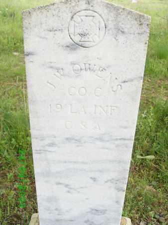 OWENS (VETERAN CSA), J W - Logan County, Arkansas | J W OWENS (VETERAN CSA) - Arkansas Gravestone Photos