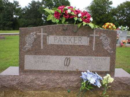 "PARKER, WILFORD BRYANT ""BARNEY"" - Logan County, Arkansas 