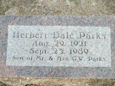 PARKS, HERBERT DALE - Logan County, Arkansas | HERBERT DALE PARKS - Arkansas Gravestone Photos