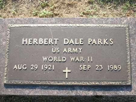 PARKS (VETERAN WWII), HERBERT DALE - Logan County, Arkansas | HERBERT DALE PARKS (VETERAN WWII) - Arkansas Gravestone Photos
