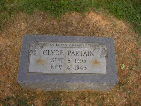 PARTAIN, CLYDE - Logan County, Arkansas   CLYDE PARTAIN - Arkansas Gravestone Photos