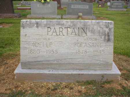 PARTAIN, PLEASANT E. - Logan County, Arkansas | PLEASANT E. PARTAIN - Arkansas Gravestone Photos