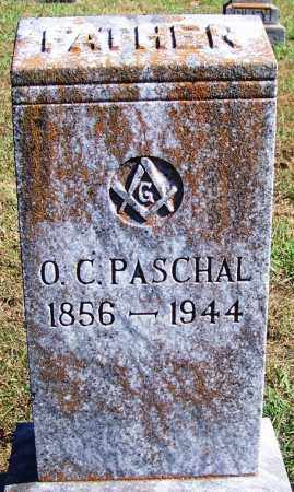 PASCHAL, O C - Logan County, Arkansas | O C PASCHAL - Arkansas Gravestone Photos
