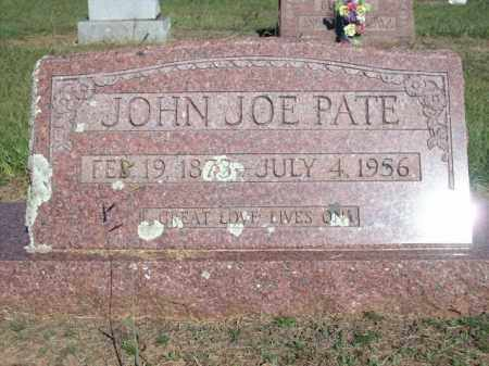 PATE, JOHN JOE - Logan County, Arkansas | JOHN JOE PATE - Arkansas Gravestone Photos