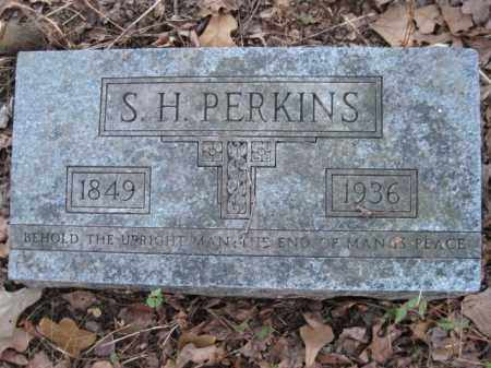 PERKINS, S H - Logan County, Arkansas | S H PERKINS - Arkansas Gravestone Photos