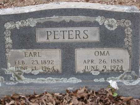 PETERS, OMA - Logan County, Arkansas | OMA PETERS - Arkansas Gravestone Photos