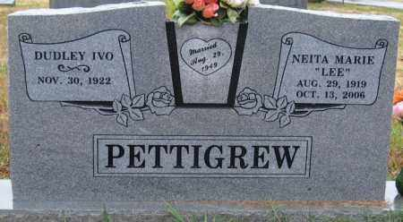 LEE PETTIGREW, NEITA MARIE - Logan County, Arkansas | NEITA MARIE LEE PETTIGREW - Arkansas Gravestone Photos