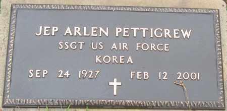PETTIGREW (VETERAN KOR), JEP ARLEN - Logan County, Arkansas | JEP ARLEN PETTIGREW (VETERAN KOR) - Arkansas Gravestone Photos