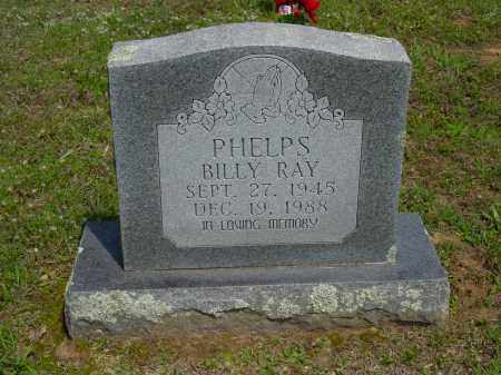 PHELPS, BILLY RAY - Logan County, Arkansas | BILLY RAY PHELPS - Arkansas Gravestone Photos