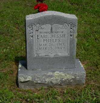 PHELPS, EARL JESSIE - Logan County, Arkansas | EARL JESSIE PHELPS - Arkansas Gravestone Photos