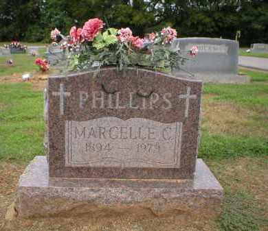 PHILLIPS, MARCELLE C. - Logan County, Arkansas | MARCELLE C. PHILLIPS - Arkansas Gravestone Photos