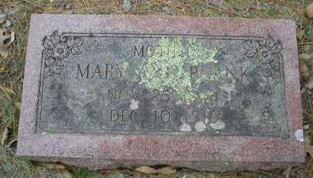 PLANK, MARY ANN - Logan County, Arkansas | MARY ANN PLANK - Arkansas Gravestone Photos