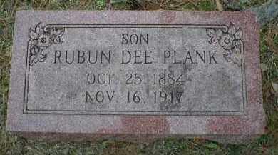 PLANK, RUBUN DEE - Logan County, Arkansas | RUBUN DEE PLANK - Arkansas Gravestone Photos