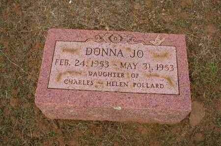 POLLARD, DONNA JO - Logan County, Arkansas | DONNA JO POLLARD - Arkansas Gravestone Photos