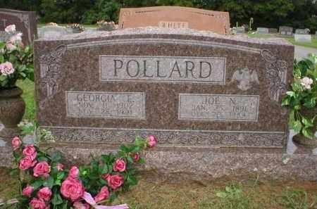 POLLARD, GEORGIA E - Logan County, Arkansas | GEORGIA E POLLARD - Arkansas Gravestone Photos